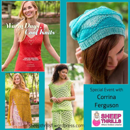 Sheep Thrills Yarn Shop Broward County 4725 N University Drive Lauderhill FL 33351 Corrina Ferguson Book Signing
